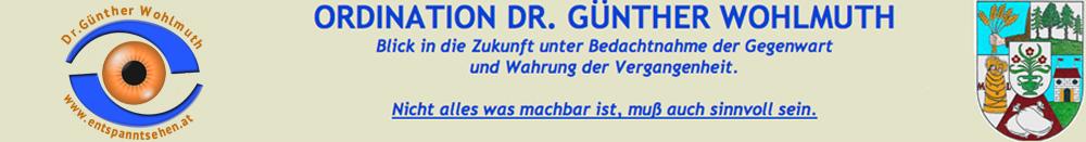 Augenarzt Dr. Günther Wohlmuth in 1210 Wien - So erreichen ...
